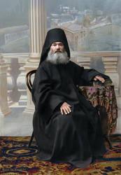 Monk of the Panteleimon Monastery at Mount Athos