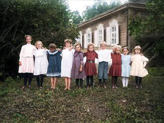 Summer in the Solova village Russia 1903