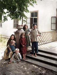 Children of the Solova village Russia 1903