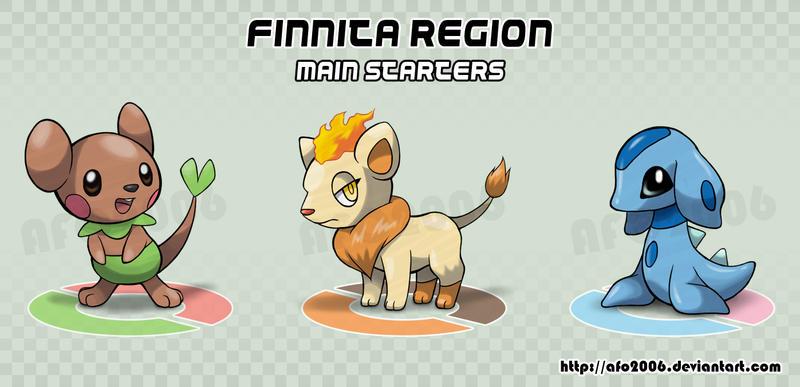 FINNITA REGION - MAIN STARTERS by afo2006