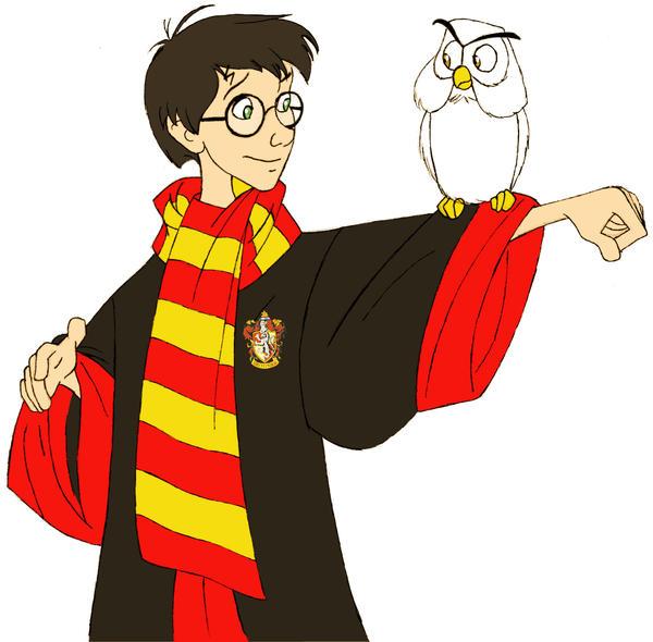 Concurso de desenho - Março --> Maio Harry_Potter_and_Hedwig_by_afo2006