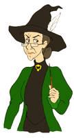 Prof. Minerva McGonagall by afo2006