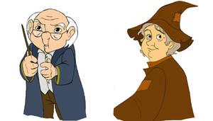 Prof. Flitwick - Prof. Spout