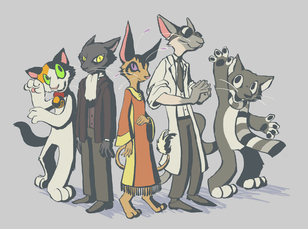 Cat People By Feathergills On DeviantArt