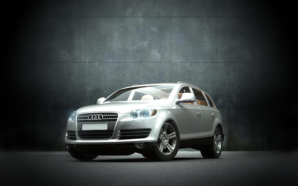 Audi Q7 rendering by automatte