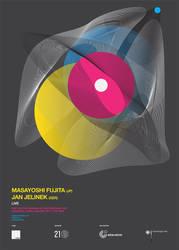 Masayoshi Fujita-Jan Jelinek / Consert Poster by automatte
