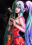Miku in Jazz by Drewz92