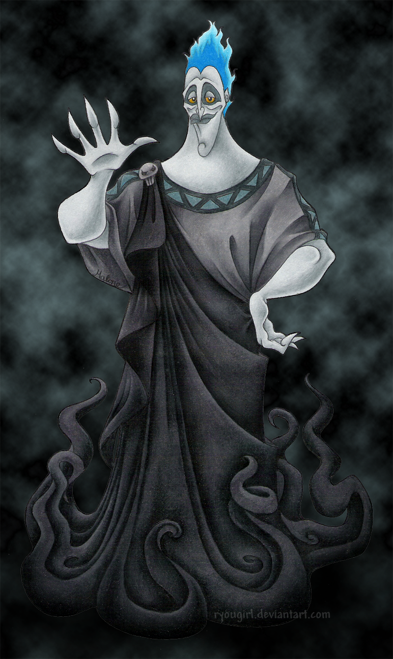 Hades, Lord of the Underworld by RyouGirl on DeviantArt