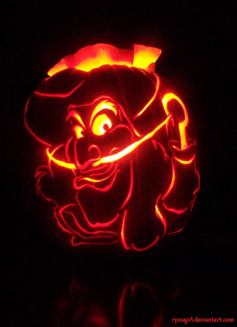 Disney pumpkin by ryougirl on deviantart