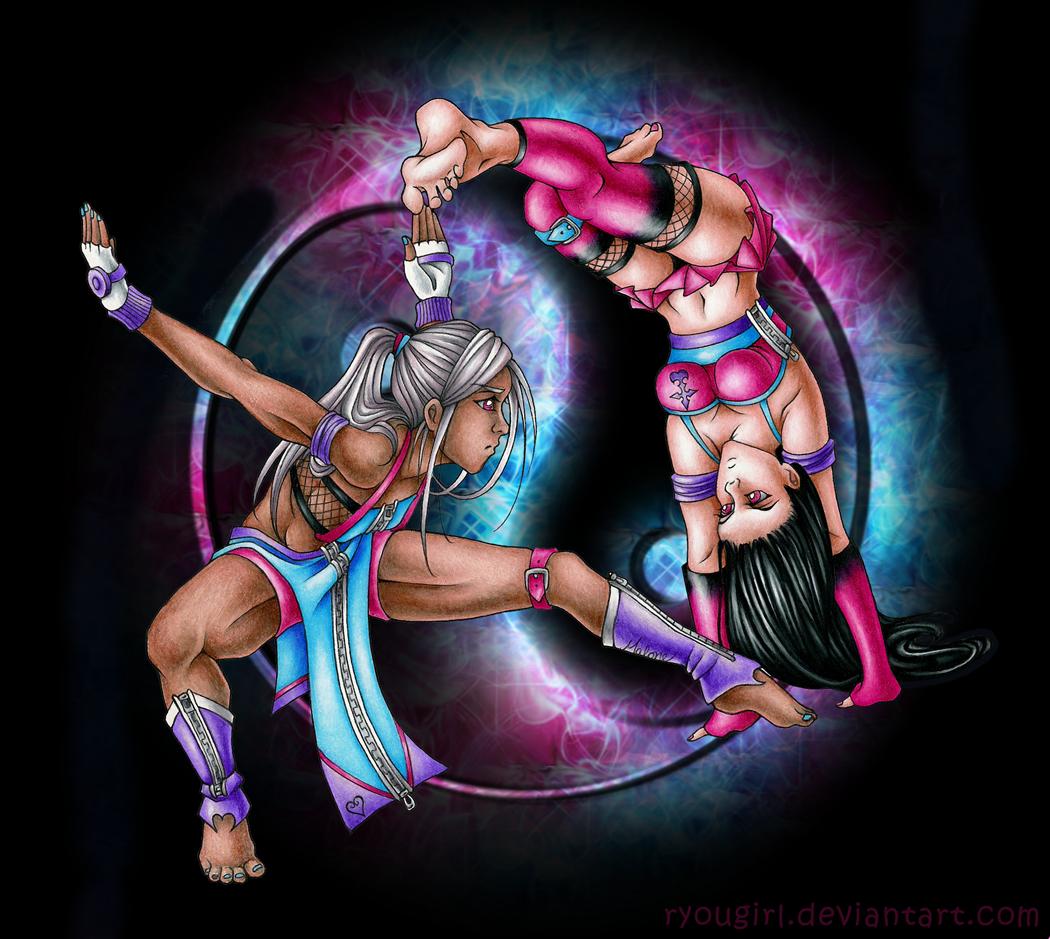 Ying vs Yang by RyouGirl