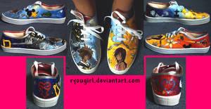 Kingdom Hearts Themed Shoes