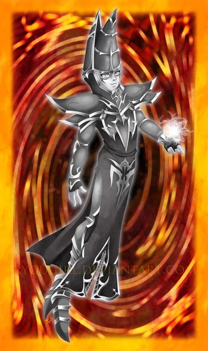 Dark Magician by RyouGirl