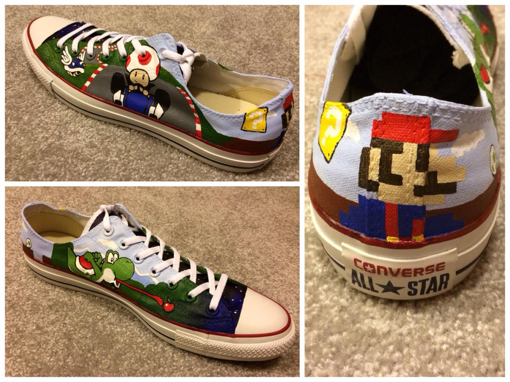 Mario Shoe by RyouGirl