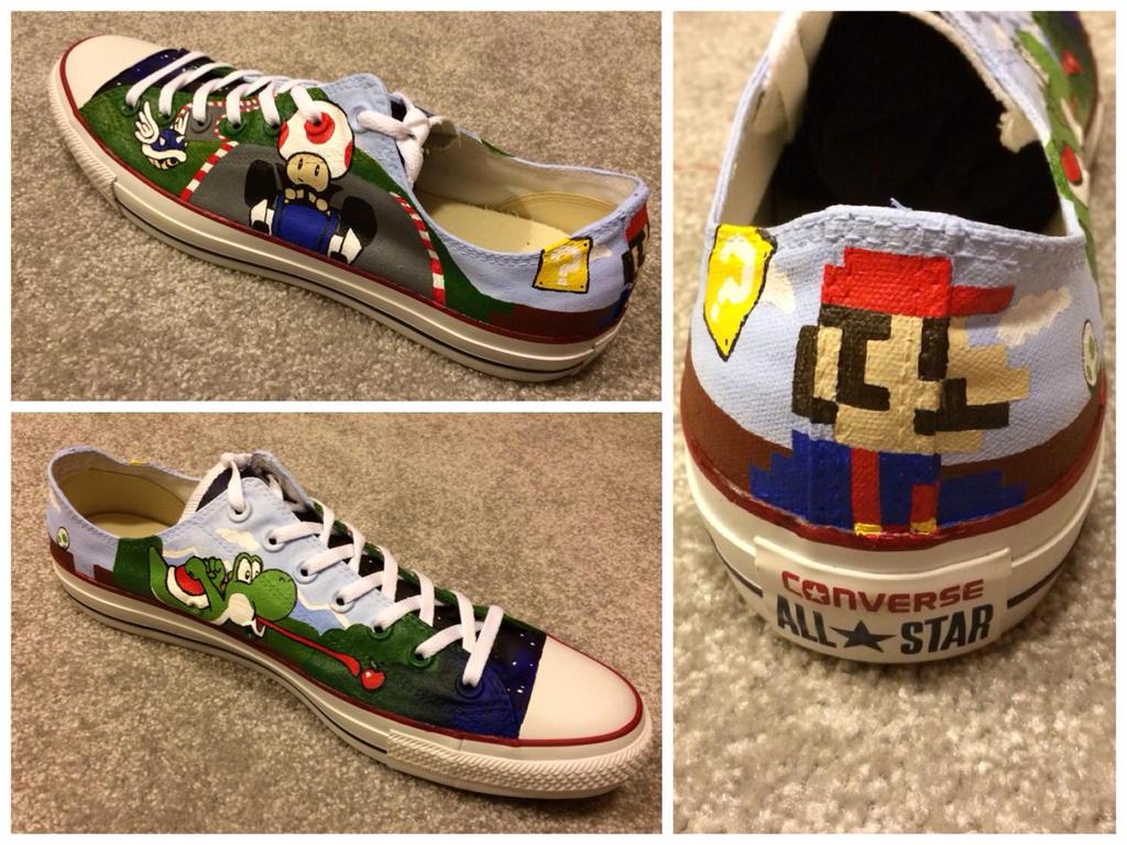 Mario Shoe by RyouGirl