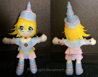 Dark Magician Girl Plushie by RyouGirl