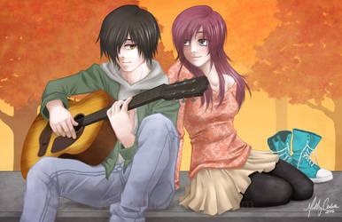 Autumn Serenade by RyouGirl