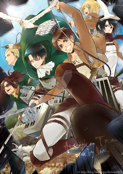Attack on Titan!!! by RoezNoah917