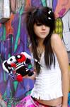graffiti queen.