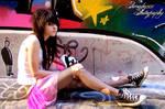 graffiti queen V