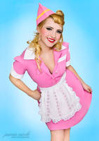Diner Girl Pin-Up II by paradoxphotography