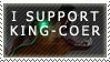 King Coer Support Stamp by King-Coer