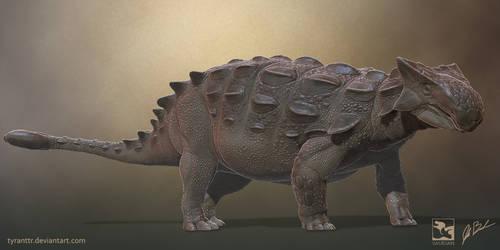 Ankylosaurus - Saurian