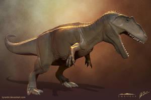 Giganotosaurus - The Isle by LittleBaardo