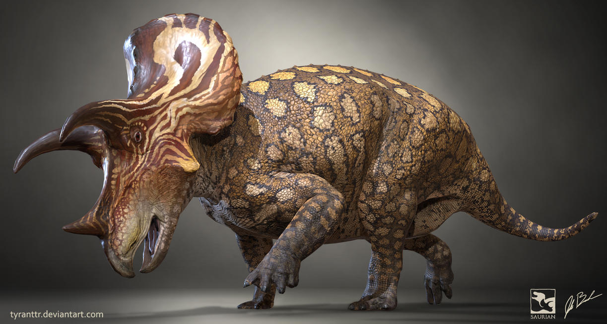 Triceratops Prorsus - Saurian by LittleBaardo