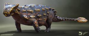 Ankylosaurus magniventris - Saurian