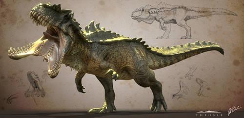 Hyperendocrin Giganotosaurus - The Isle