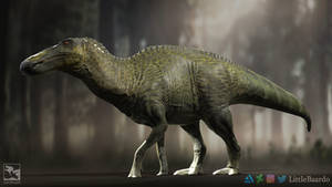 Anatosaurus annectens - Saurian by LittleBaardo