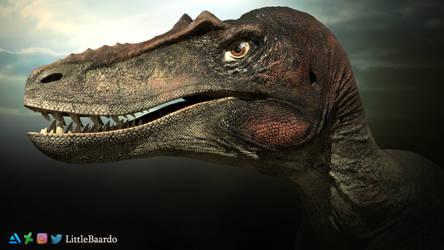 Qianzhousaurus sinensis Portrait