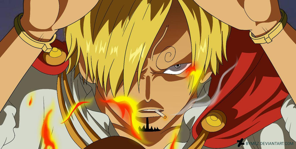 Vinsmoke Sanji One Piece By Bymez On Deviantart