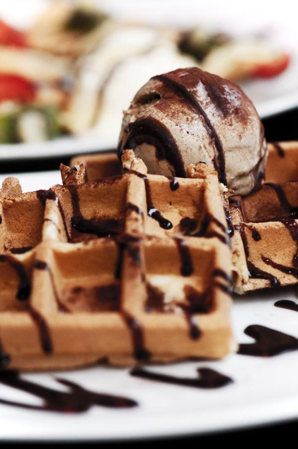 Waffle and Tiramisu Ice Cream by adrielchrist on deviantART