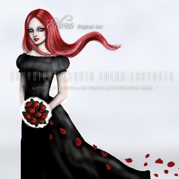 Bleeding Roses by edera-ladygoth