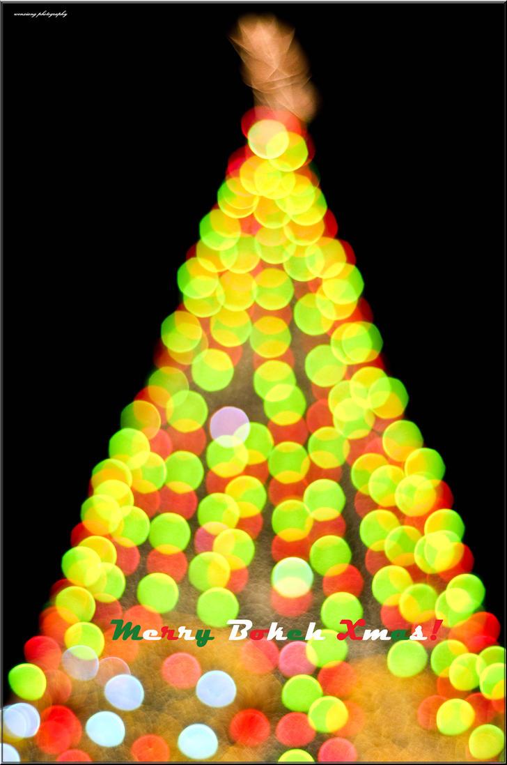 Merry Bokeh Xmas by wenxiang1981