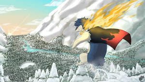 Commission - Jelrin the Typhlosion
