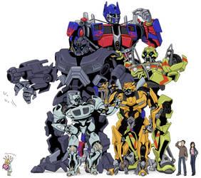 Autobots by yo-3