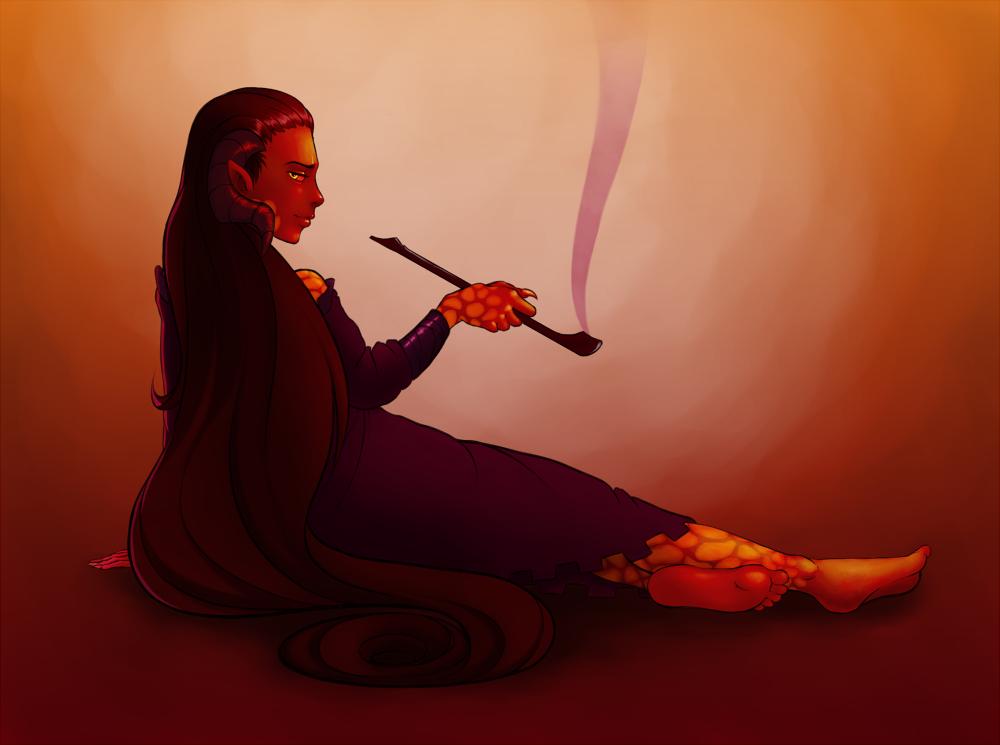 Ava's demon by Ainkurn