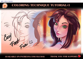 Musa. Coloring technique #1 tutorial preview by OlchaS