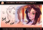 Musa. Coloring technique #1 tutorial preview