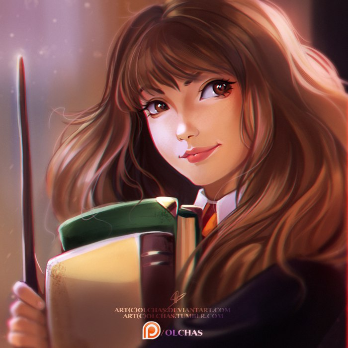 Hermione By Olchas On Deviantart