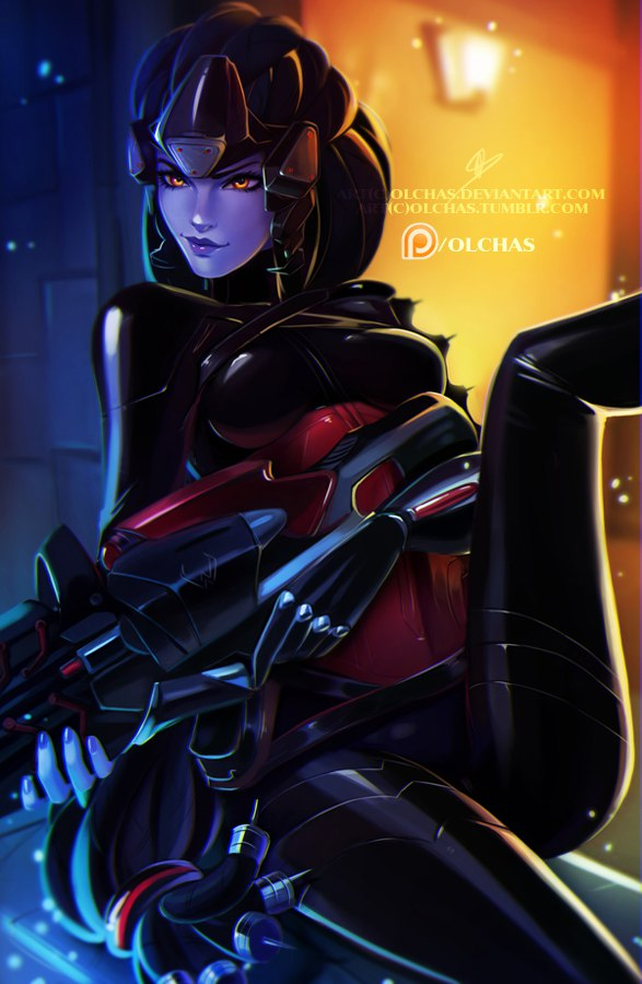 Widowmaker :NSFW optional: by OlchaS