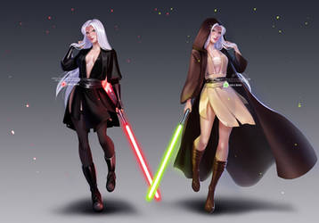 CM: Dark and light sides of the Force
