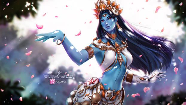 Goddess Symmetra    :NSFW optional: