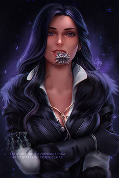 29+ Witcher 3 Yennefer Art PNG