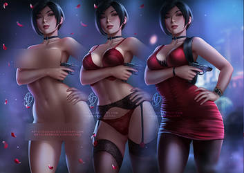 Ada Wong :alt versions preview: by OlchaS