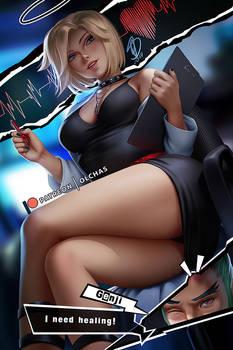 Mercy Persona 5 crossover