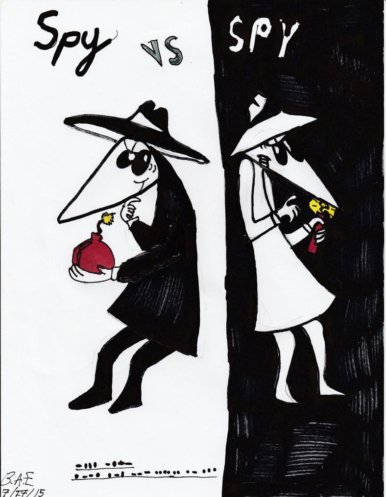 Spy VS Spy by Camila-Andromeda