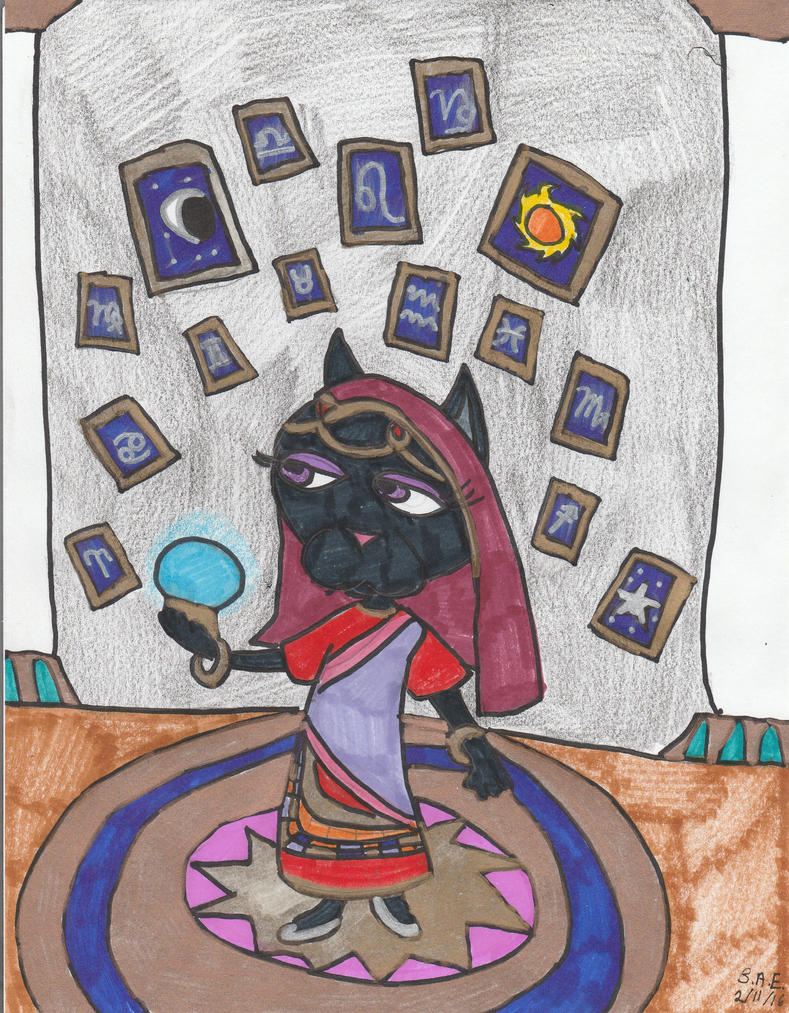 Katrina the Fortune Teller by Millie-the-Cat7
